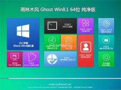 雨林木风Ghost Win8.1 64位 大师纯净版 2021.04